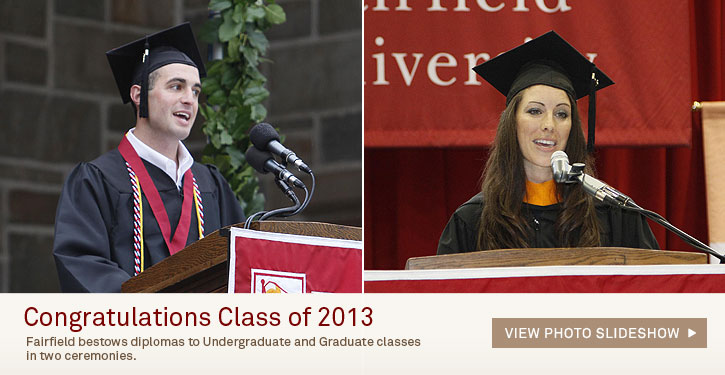 View the 2013 Commencement Slideshow