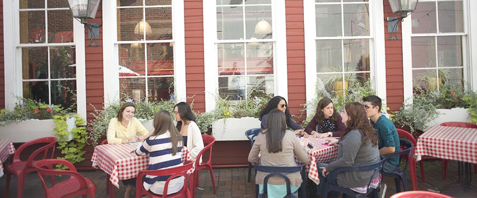 Area Restaurants Fairfield University