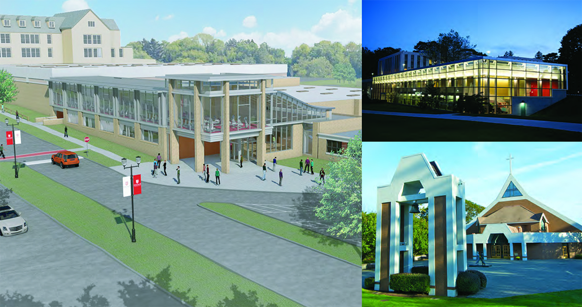 Fairfield U student centers and visions for the future