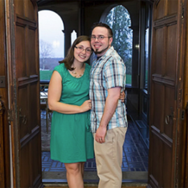 Kelly (Young) Falcone '10 and Eric Falcone '08