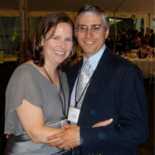 Trish (Curran) McMullin '91 and Peter McMullin '92