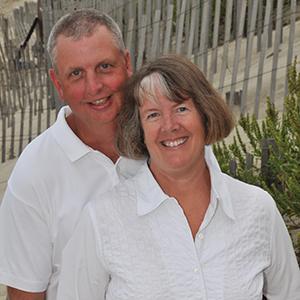 Kimberly (Hugret) Hamel '77 and Thomas Hamel '78