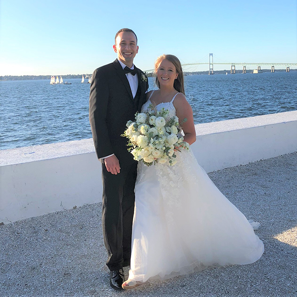 Kelsey (George) Abichaker '12 and Roland Abichaker '11