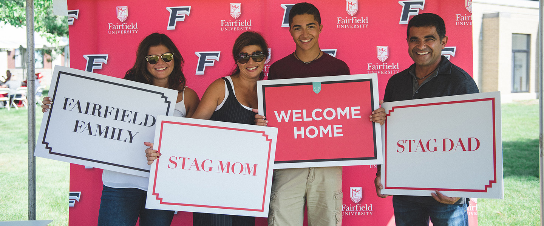 Parents And Families Fairfield University