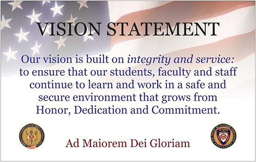 Public Safety Vision Statement.