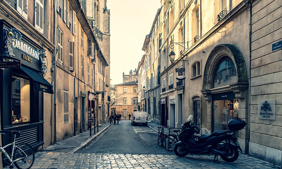 Stock photo of Aix-en-Provence, France, from Pixabay.com | RDLH