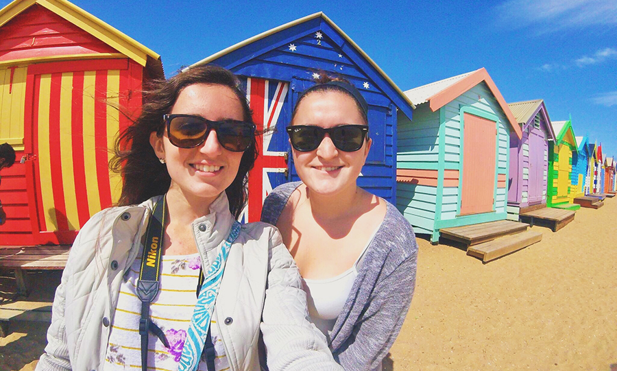 Fairfield University students in Brisbane, Australia