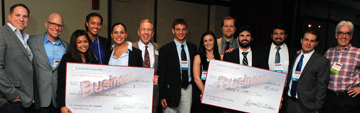 Image: Business plan winners
