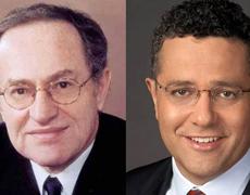 Image: Dershowitz and Toobin