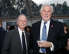 Jim Fitzpatrick '70, MA'72, P'08 and John Meditz '70 (Trustee)