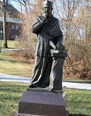 Image: Bellarmine Statue