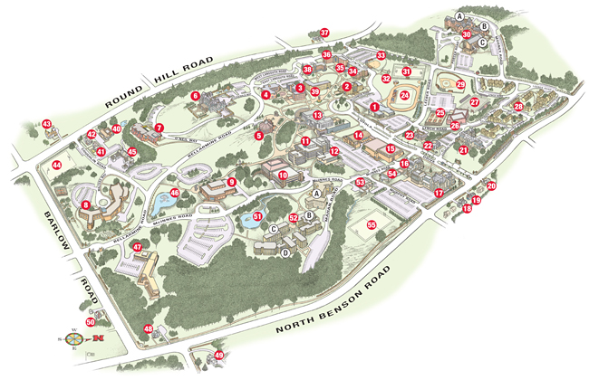Campus Map 2014 small