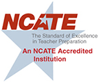 NCATE logo for GSEAP