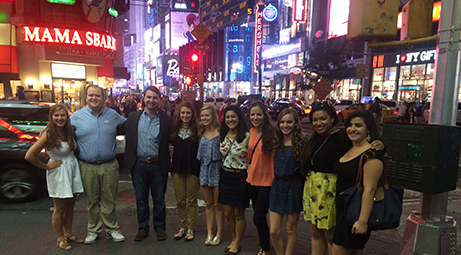 Honors Program trip Sept. 28, 2014