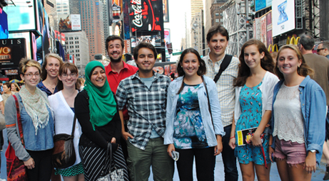 "Honor students visiting NYC to see ""Once"" on Broadway"