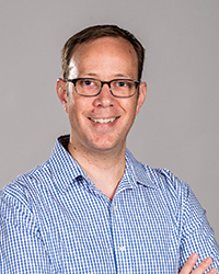 Image of faculty member, Aaron Van Dyke