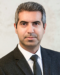 Image of faculty member, Iman Naderi