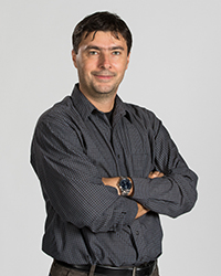 Image of faculty member, Adrian Rusu-Sprincenatu