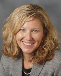 Image of faculty member, Meredith Kazer
