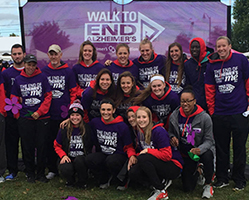 Fairfield Students Walk to End Alzheimer's