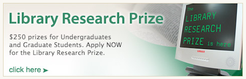 Library Research prize