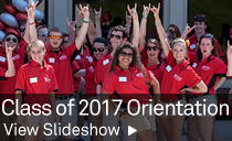 Class of 2017 Orientation slideshow