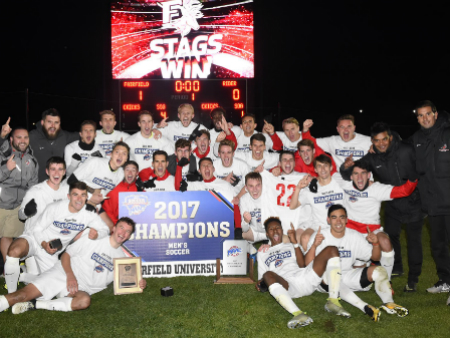 Fairfield University's 2017 MAAC Championship Men's Soccer team