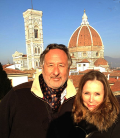 Philip and Yael Eliasoph in Florence